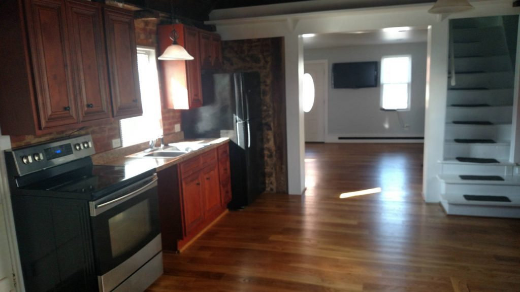 Renovated Kitchen & Living Room- Home Renovations in Frederick MD