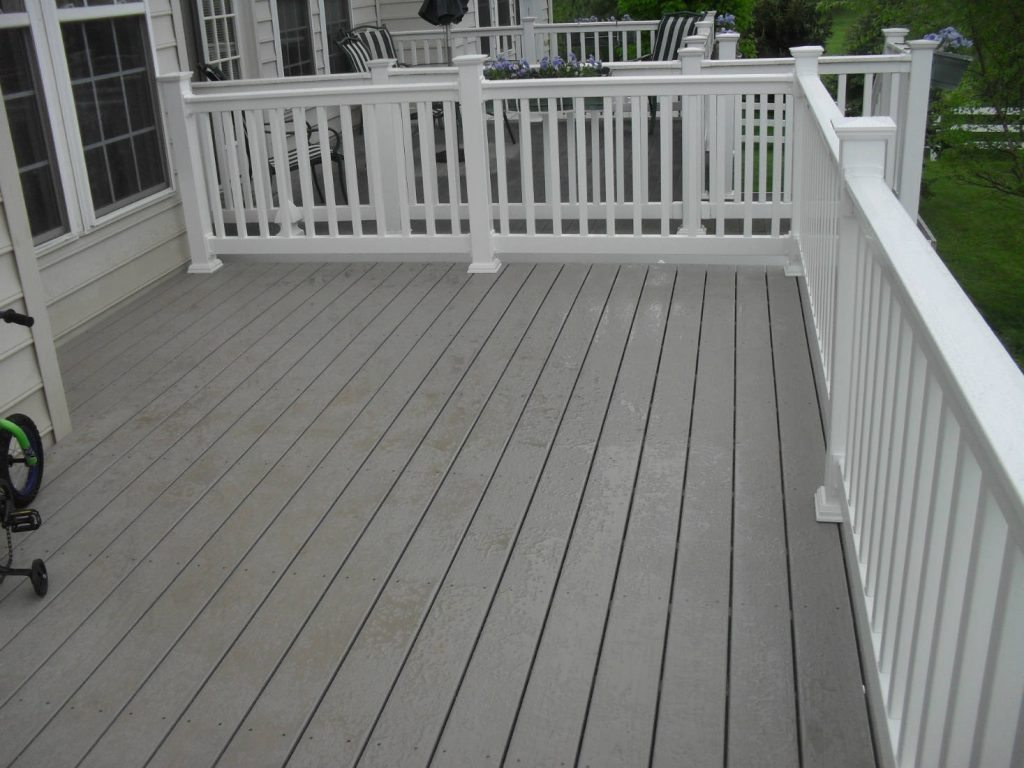 Townhouse Deck- Pressure Washing & Home Renovations in Frederick MD