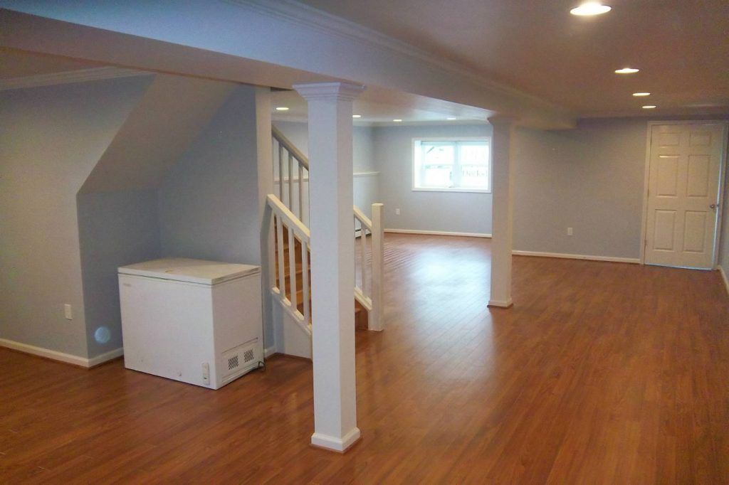 Finished Basement- Home Renovations in Frederick MD