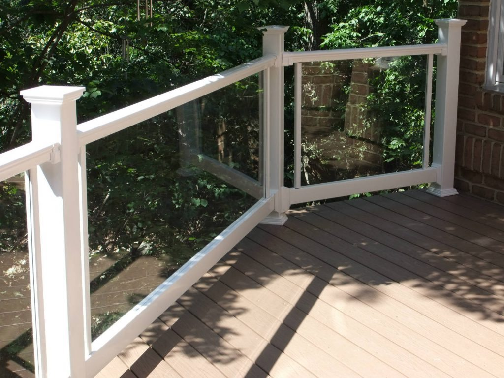 Transparent Rails. Built in Lake Linganore- Deck Builder & Home Renovations Frederick MD