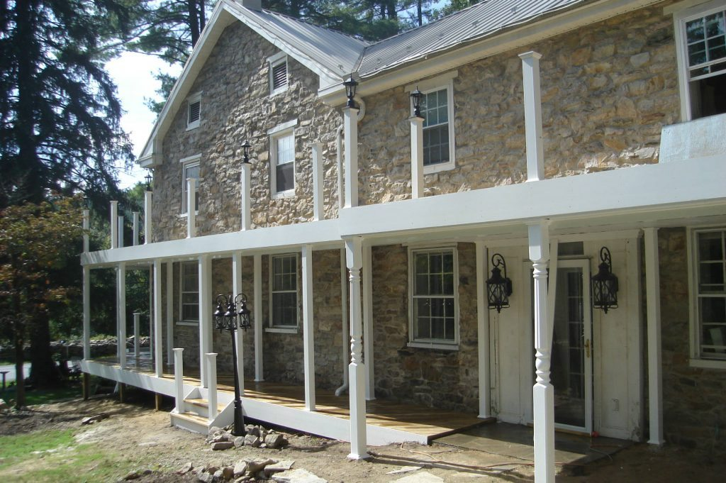 Stone Work and Point Up- Home Renovations Frederick MD