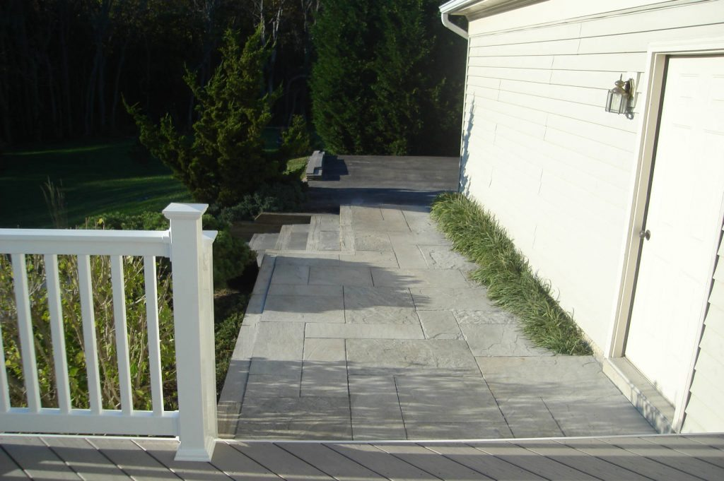 Flagstone Walkway- Deck Builder Frederick MD