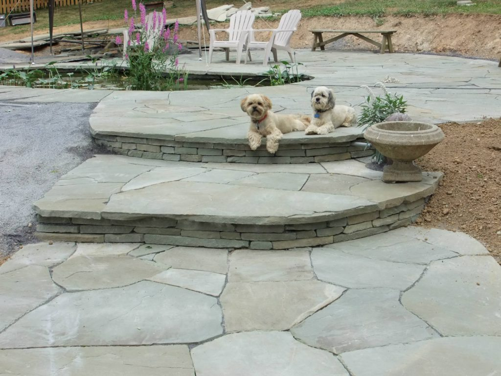 Flagstone Pond- Home Renovation Monrovia & Frederick MD