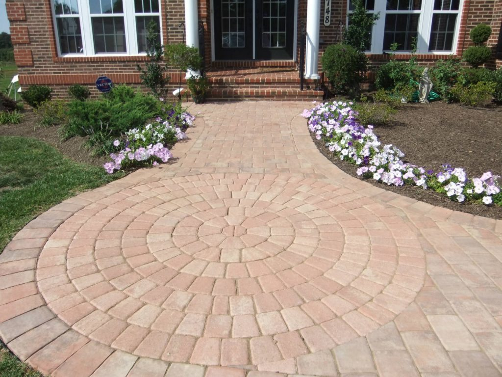 Paver Sidewalk- Home Renovations in Frederick MD