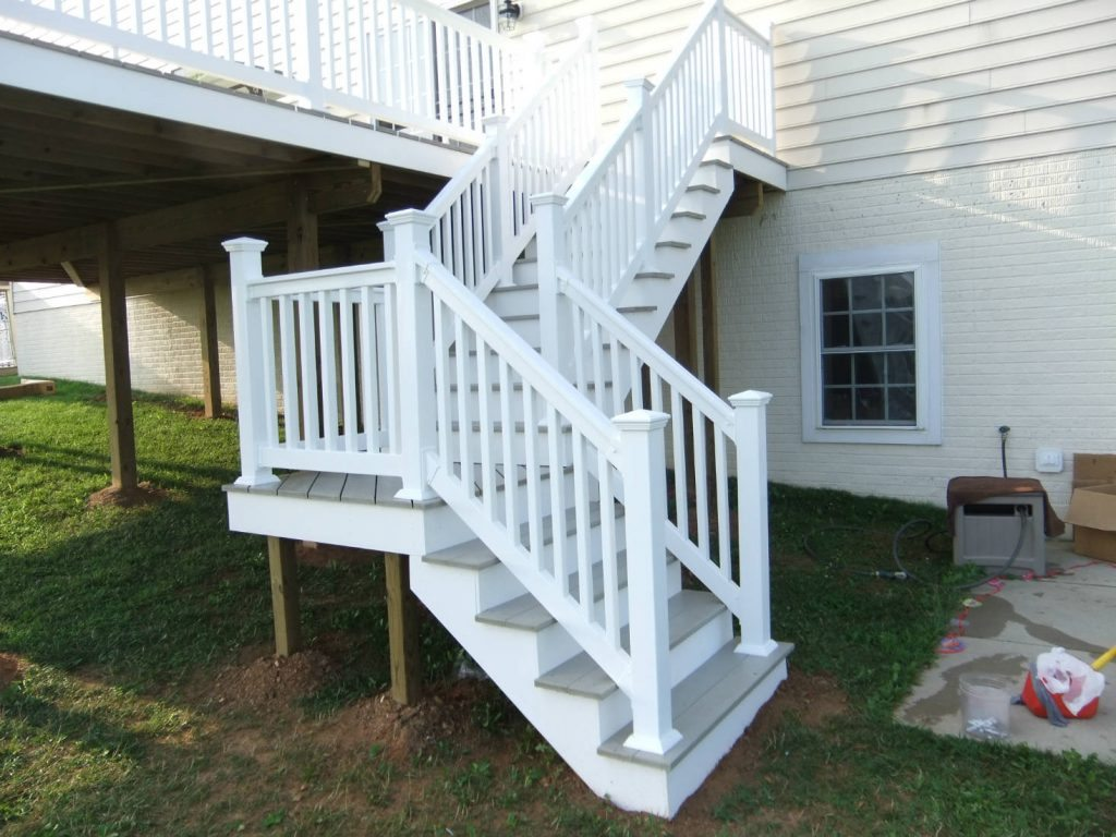 Steps with Landing- Deck Builder in Frederick MD