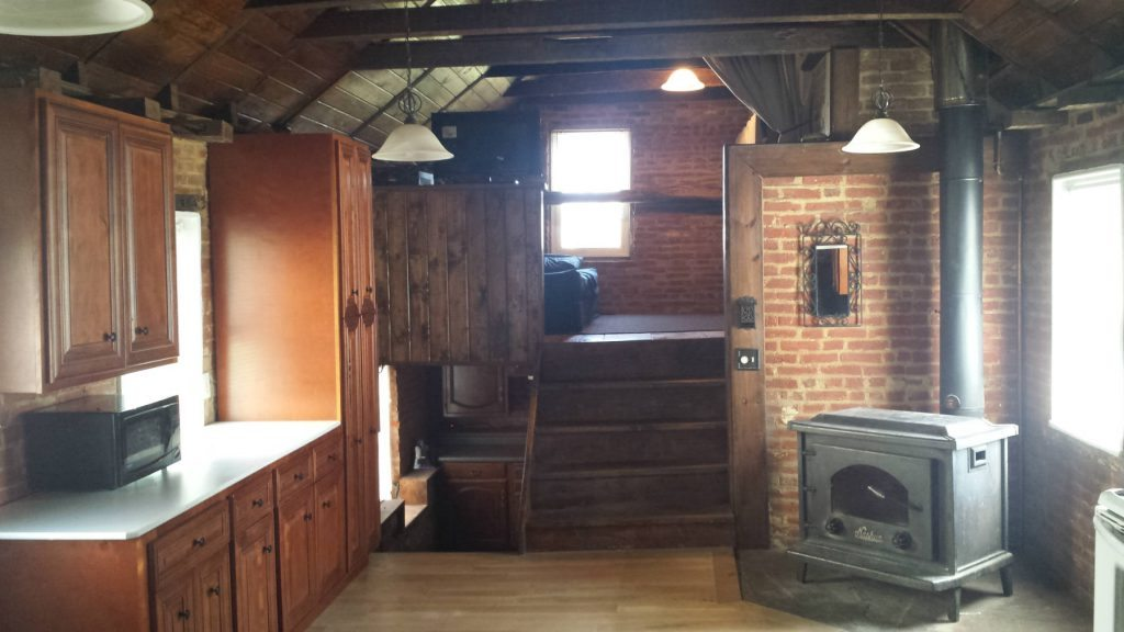 Renovated 1800s Kitchen and Loft- Homes in Frederick MD